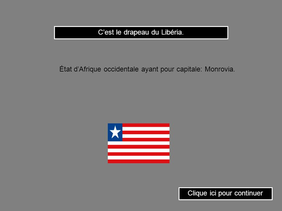 Cest le drapeau de Cuba. Clique ici pour continuer État dAmérique centrale (Antilles) ayant pour capitale: La Havane.