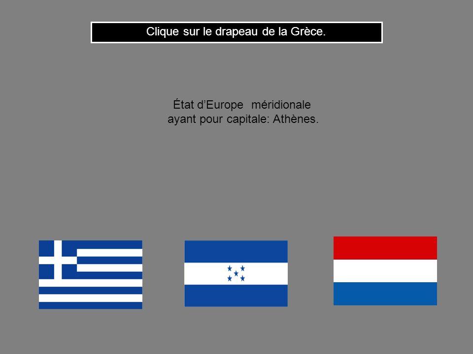 Cest le drapeau du Botswana. Clique ici pour continuer État dAfrique australe ayant pour capitale: Gaborone.