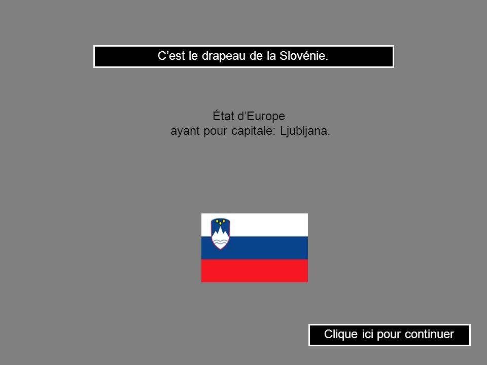 Cest le drapeau du Panamá. Clique ici pour continuer État dAmérique centrale ayant pour capitale: Panamá.
