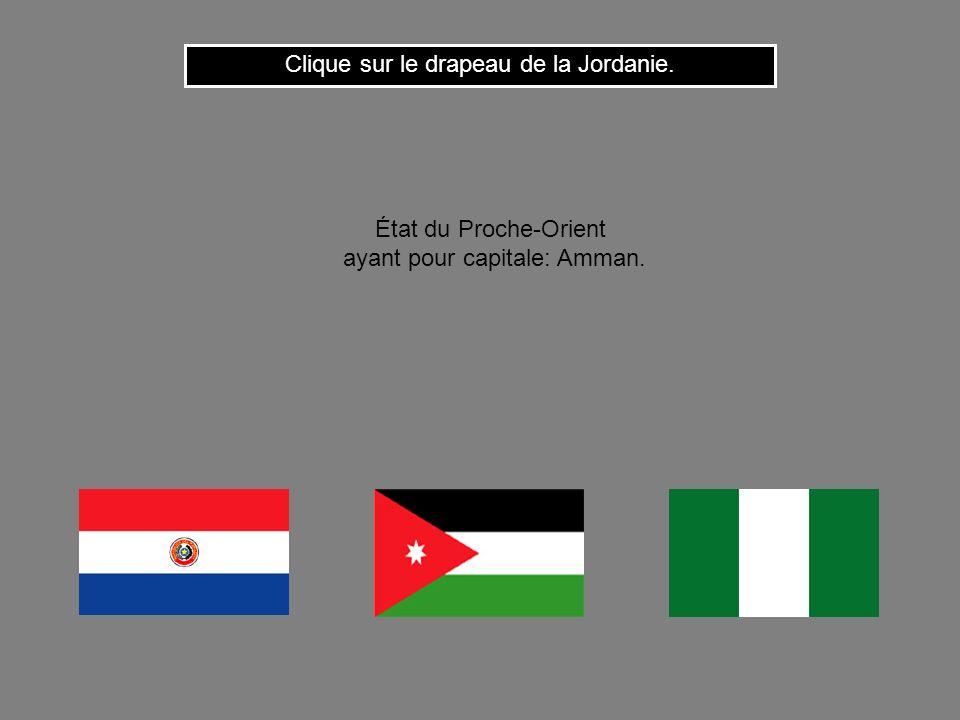 Cest le drapeau du Liban. Clique ici pour continuer État dAsie occidentale ayant pour capitale: Beyrouth.