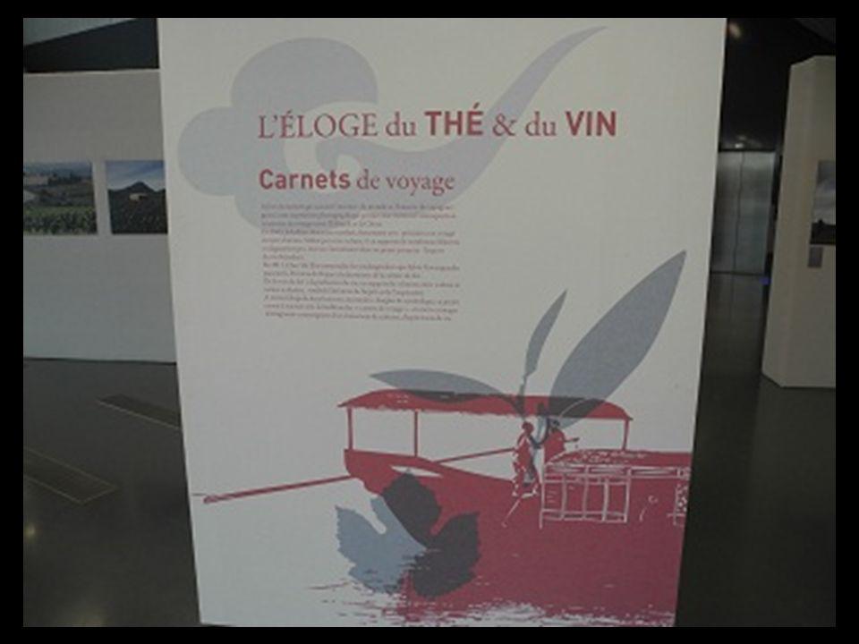 la Chine est linvitée dHonneur de cette année 2012 Une exposition Eloge du Thé et du Vin retrace une reportage sur ces boissons ancestrales et chargée