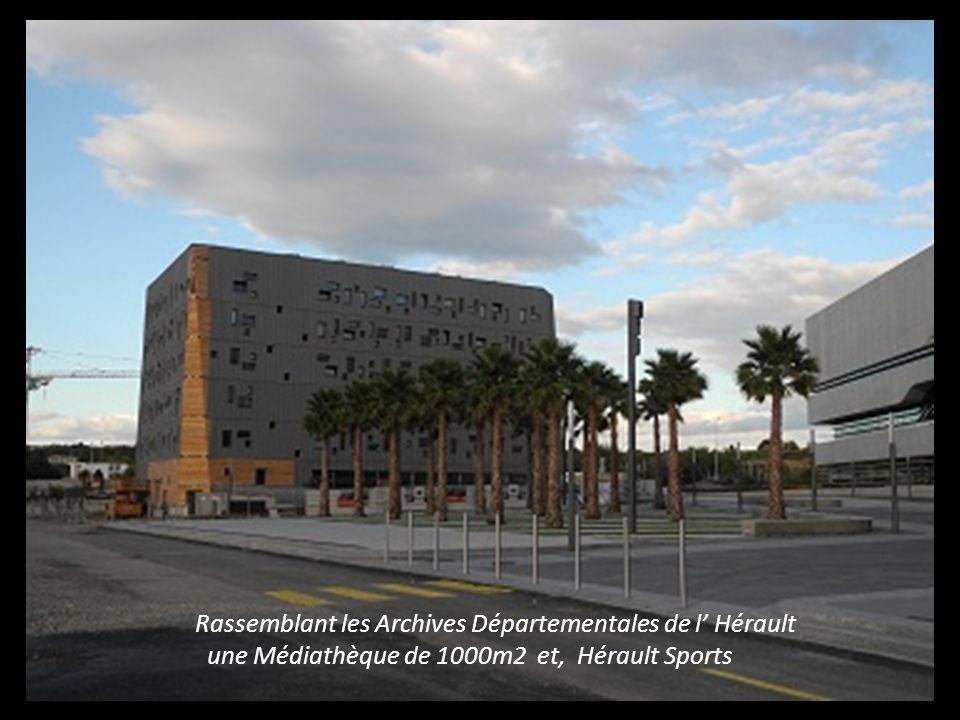 Bâtiment imaginé par l Architecte Zaha Hadid
