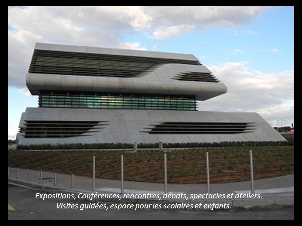Rassemblant les Archives Départementales de lHérault une Médiathèque sur 1000m2 et Hérault Sports Rassemblant les Archives Départementales de l Héraul