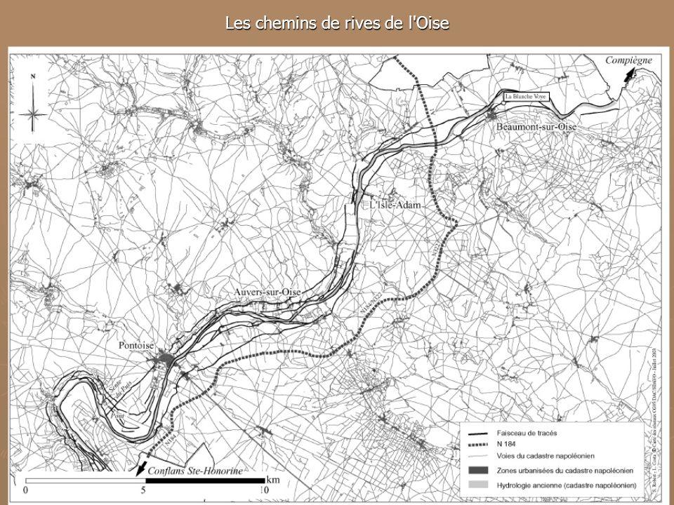 Les chemins de rives de l'Oise