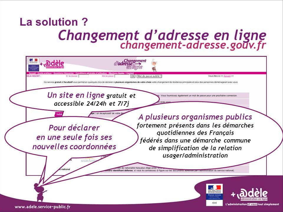 A plusieurs organismes publics fortement présents dans les démarches quotidiennes des Français fédérés dans une démarche commune de simplification de
