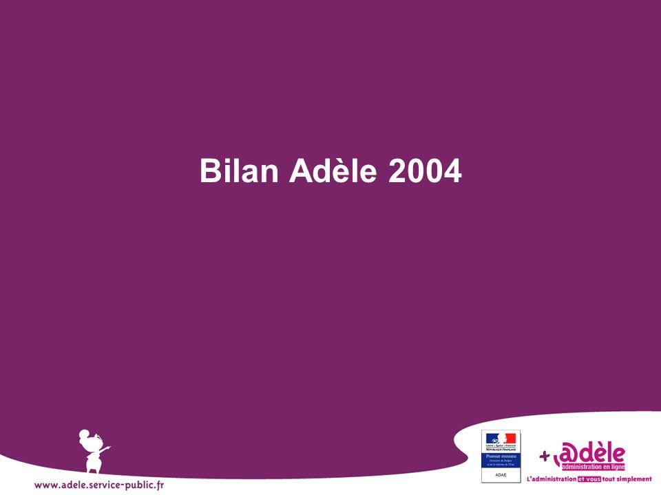 Bilan Adèle 2004