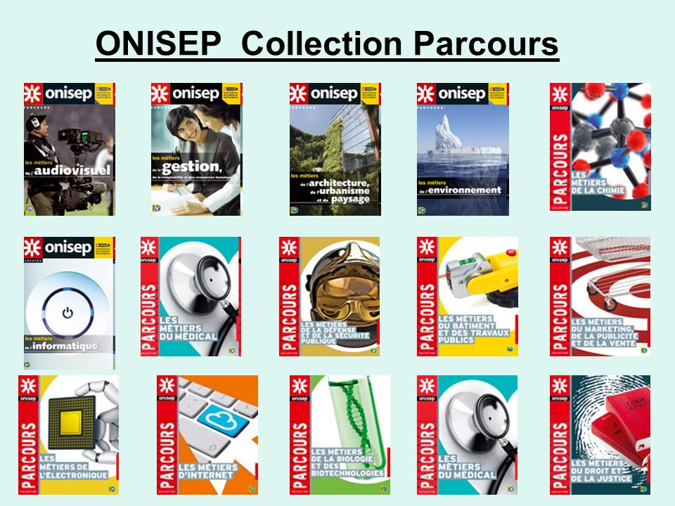 ONISEP Collection Parcours