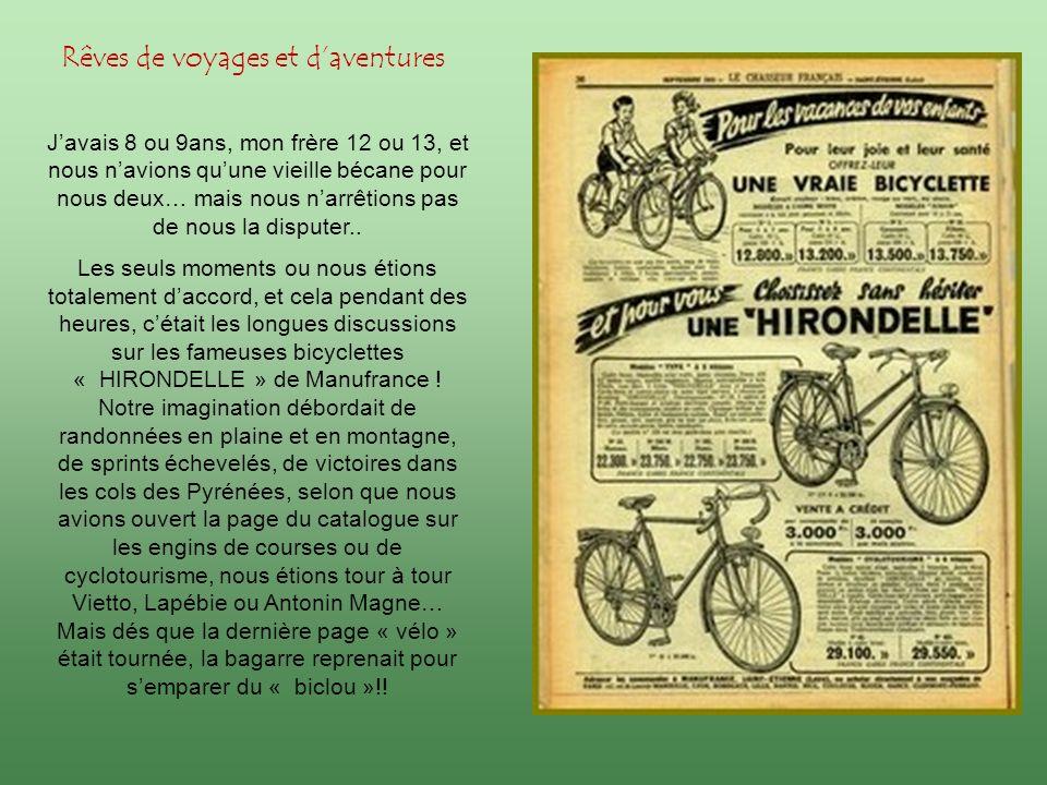 De 1940 à 1946, le catalogue de Saint-Etienne fut mon livre de chevet, ma bible, mon manuel de lecture: mon imaginaire sy construisit autour de ses milliers dimages et de descriptions baroques.