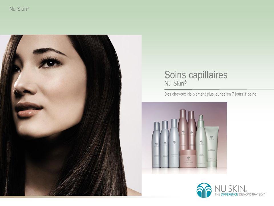 Des cheveux visiblement plus jeunes en 7 jours à peine Soins capillaires Nu Skin ®