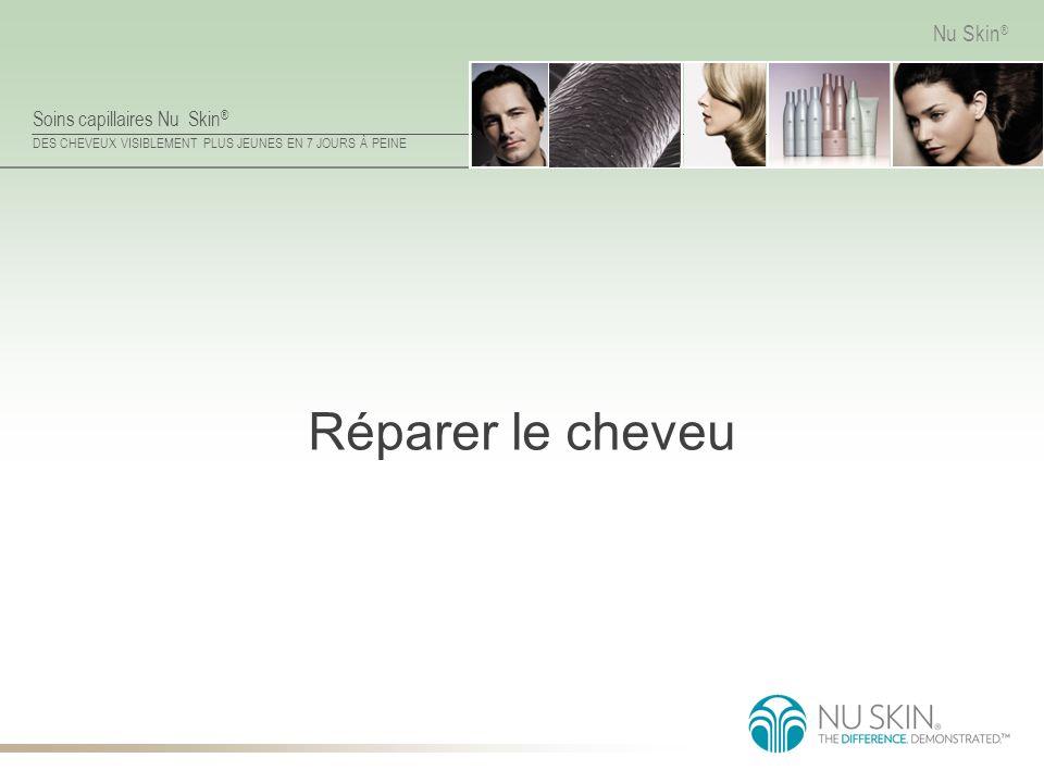 Soins capillaires Nu Skin ® DES CHEVEUX VISIBLEMENT PLUS JEUNES EN 7 JOURS À PEINE Nu Skin ® Réparer le cheveu
