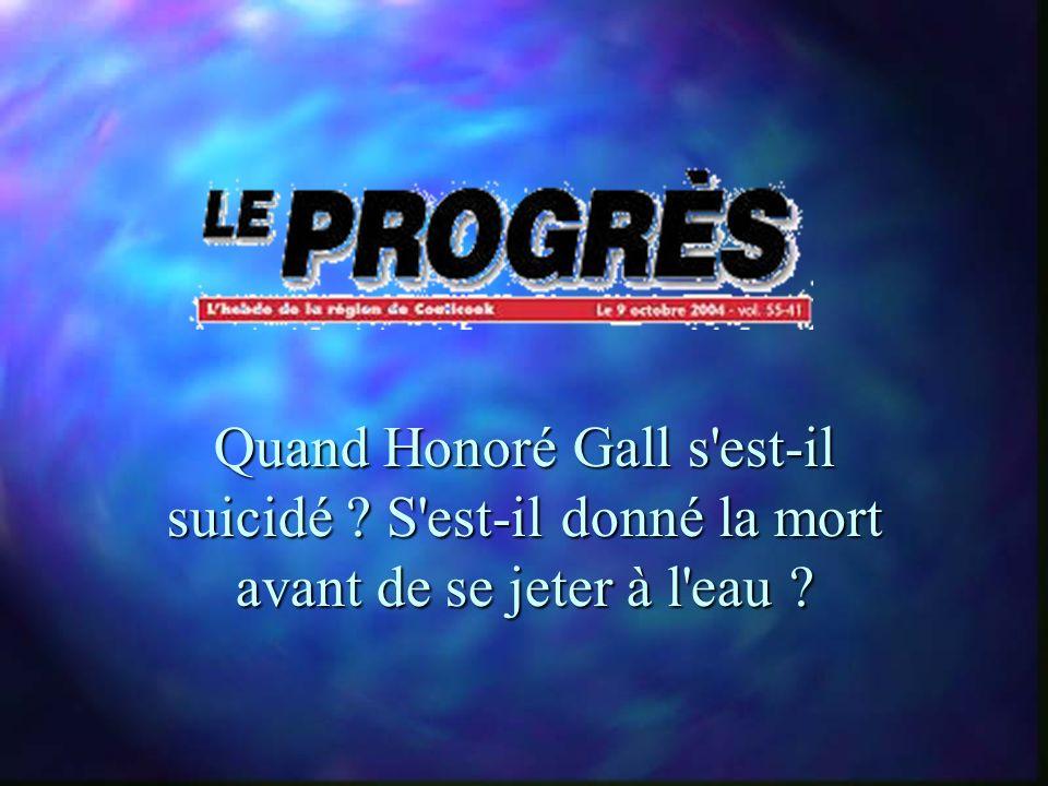 Le rapport de la gendarmerie révèle que Alain P…. se serait suicidé lui-même.