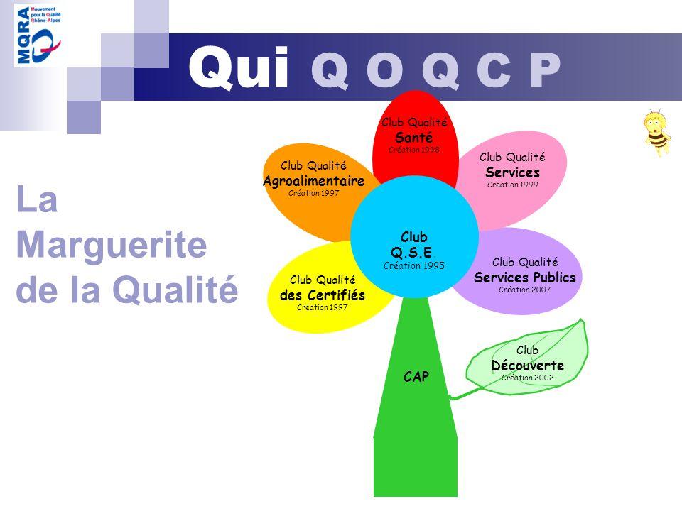 La Marguerite de la Qualité Club Q.S.E.