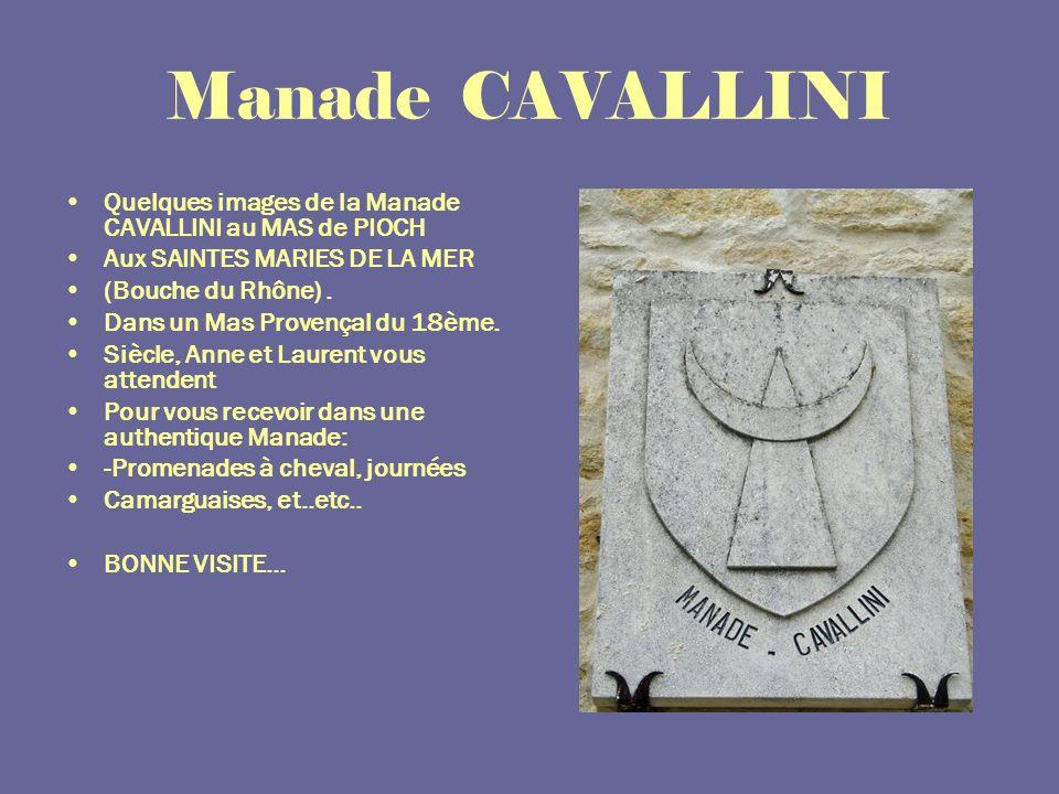 Le MAS de PIOCH ****** Manade CAVALLINI ****** 22 Septembre 2007 Diaporama automatique