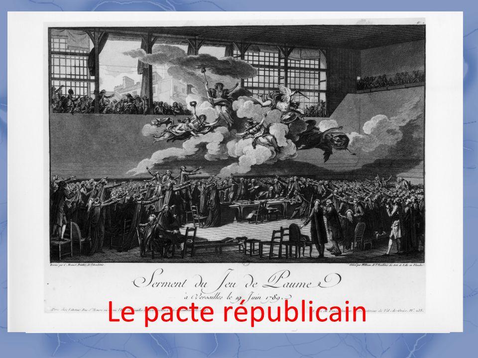 2 « L acte par lequel un peuple est aggrégé ou conservé à la nation, est un acte du pouvoir constituant...