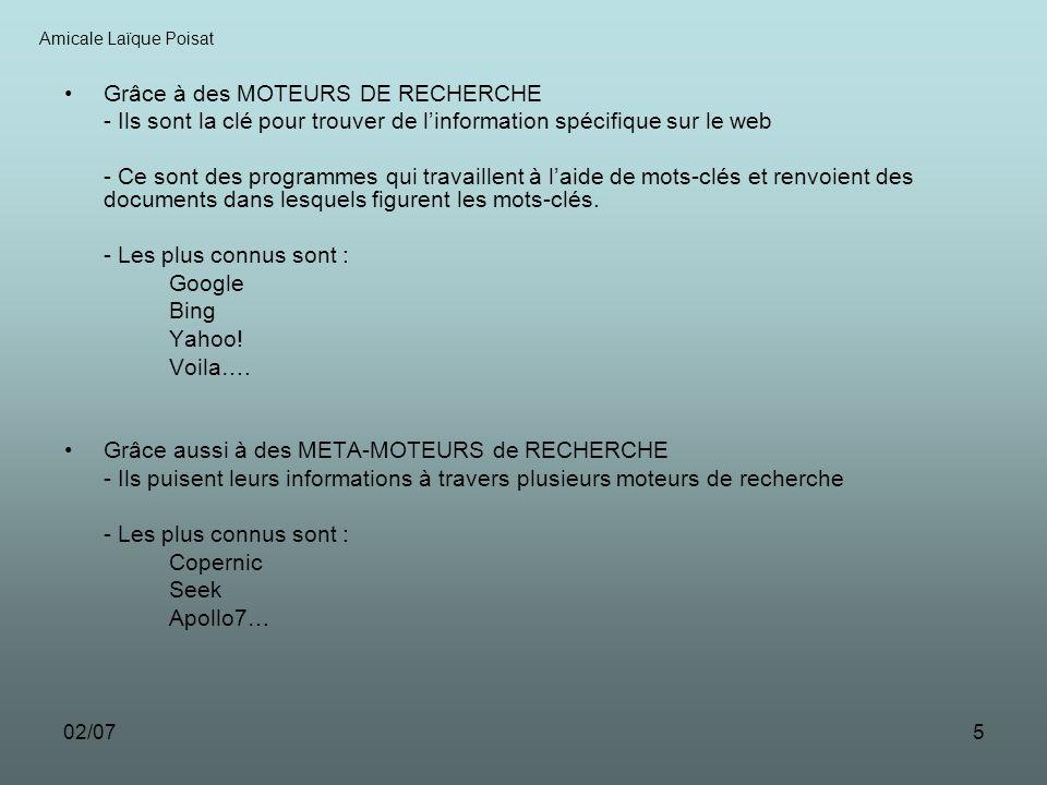 02/076 LES REQUETES Amicale Laïque Poisat