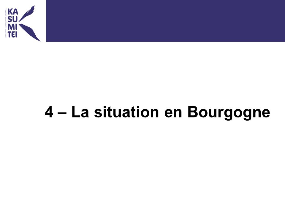4 – La situation en Bourgogne
