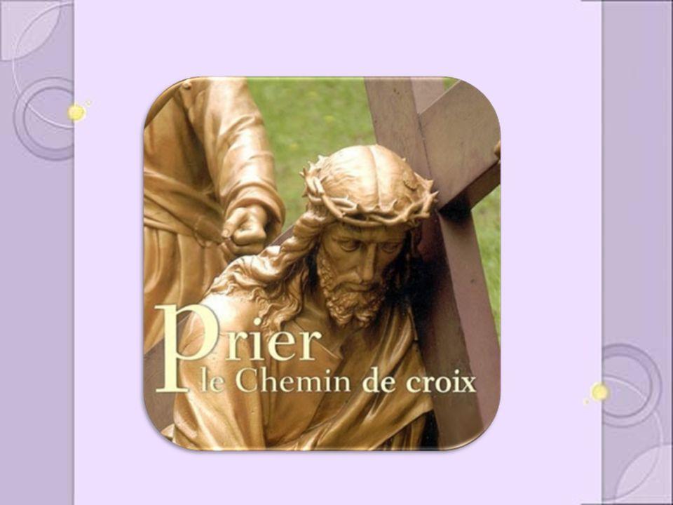 Nous tadorons, ô Christ, et nous te bénissons.Tu as racheté le monde par ta sainte croix.