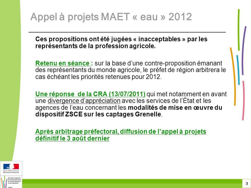 3 Ces propositions ont été jugées « inacceptables » par les représentants de la profession agricole.