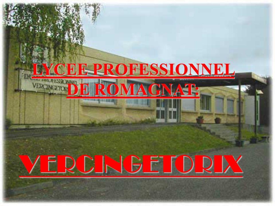 Le 6 février 2007 nous avons visité le L.E.P de Romagnat : Vercingétorix.
