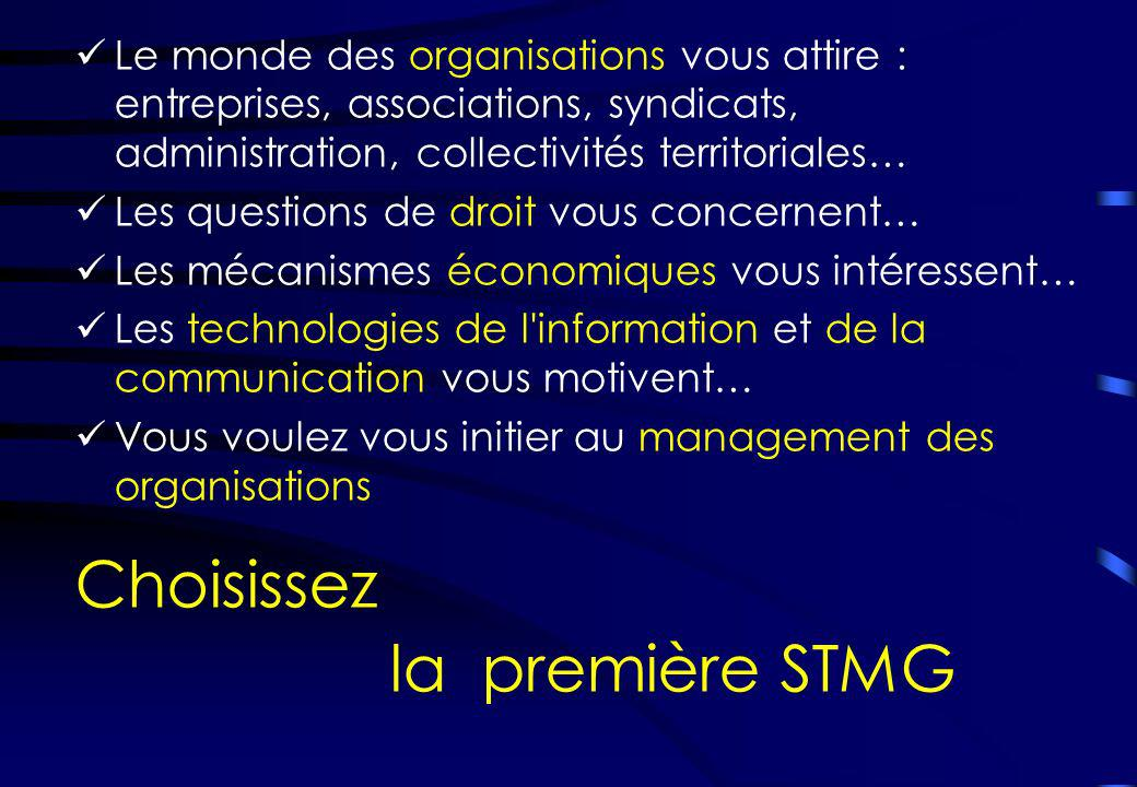 Le monde des organisations vous attire : entreprises, associations, syndicats, administration, collectivités territoriales… Les questions de droit vou