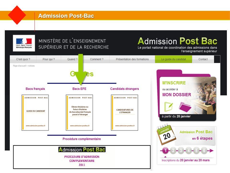 Etudier en France Brochure destinée aux Elèves des Lycées Français et leurs parents : Etudier en France après le Baccalauréat à télécharger sur www.campusfrance.org