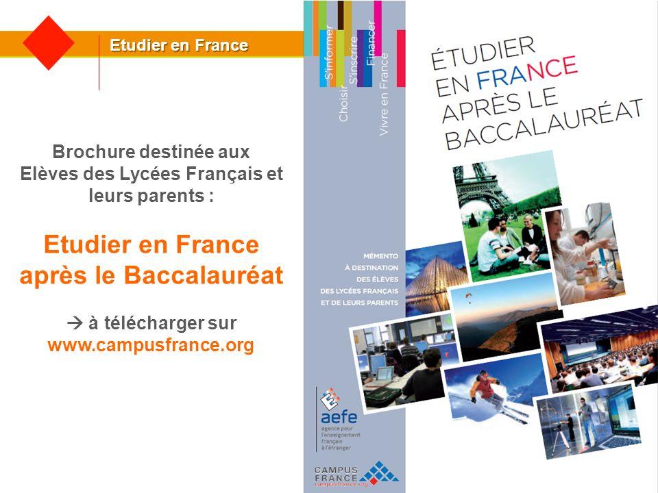 Etudier en France après le Baccalauréat www.campusfrance.org