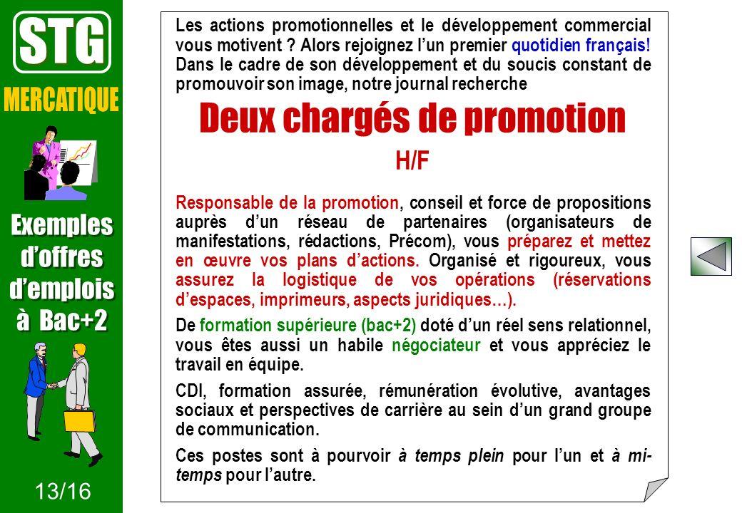 Les actions promotionnelles et le développement commercial vous motivent ? Alors rejoignez lun premier quotidien français! Dans le cadre de son dévelo