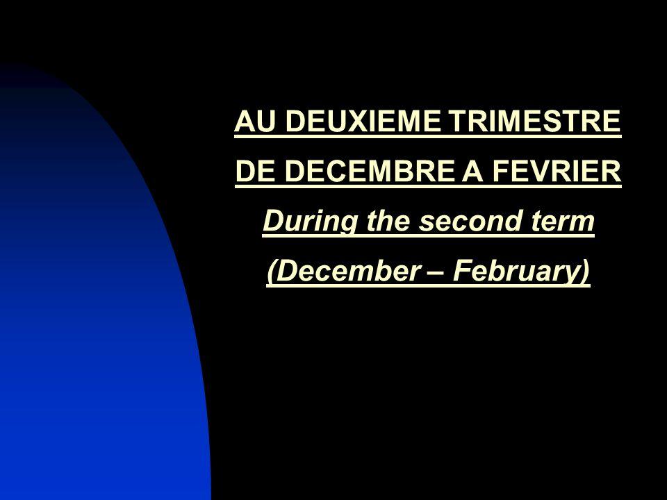 Intervention du conseiller dorientation Intervention of the careers adviser.