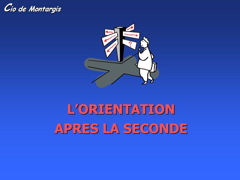LORIENTATION APRES LA SECONDE C io de Montargis