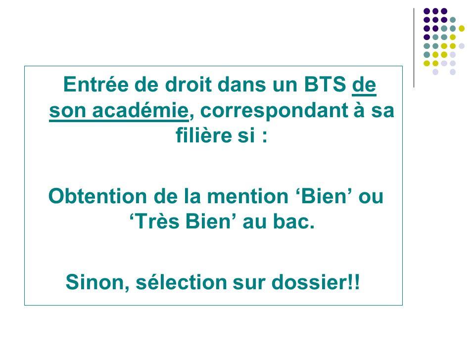 Le BTS Académie de Reims - Repères 2012/2013