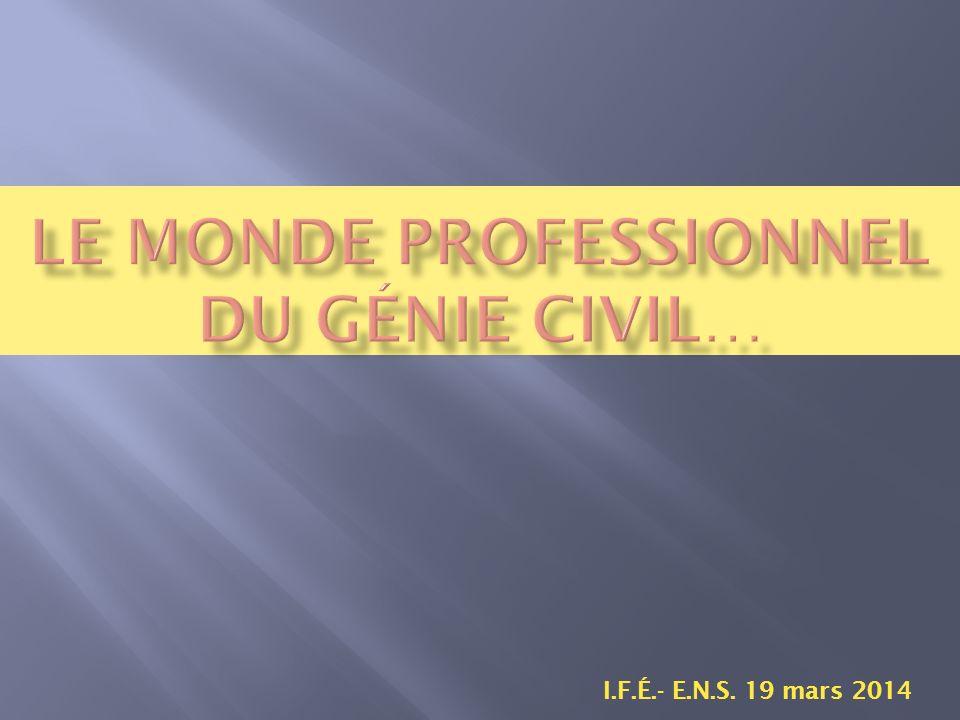 I.F.É.- E.N.S. 19 mars 2014