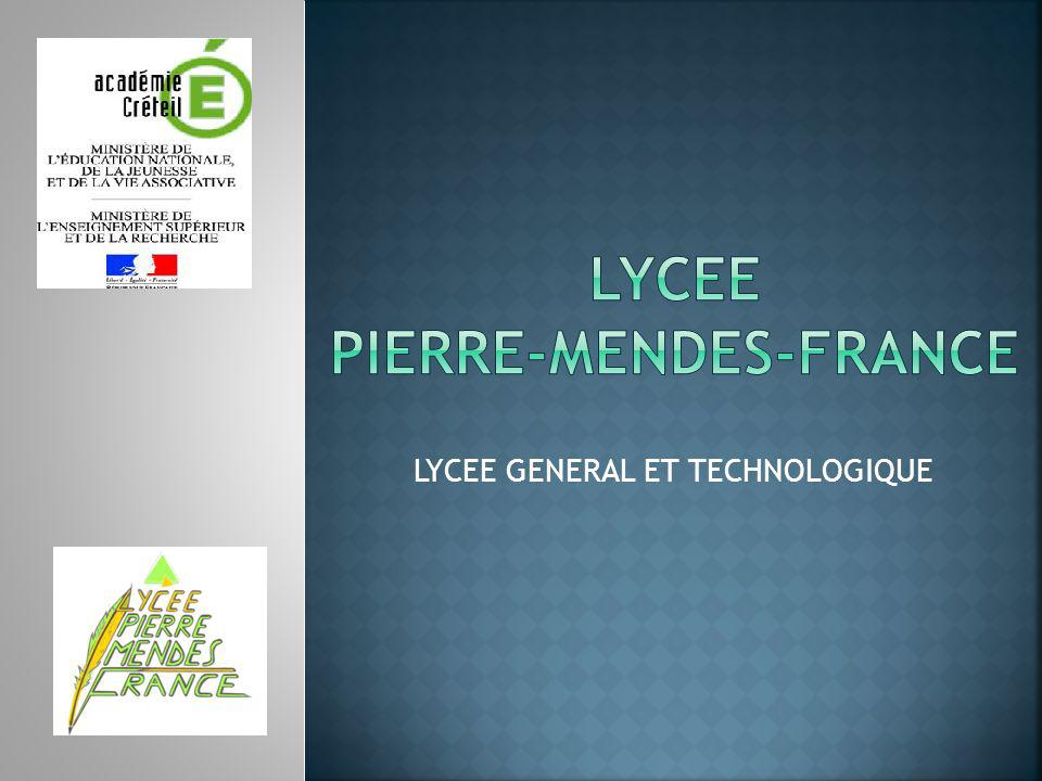 LYCEE GENERAL ET TECHNOLOGIQUE