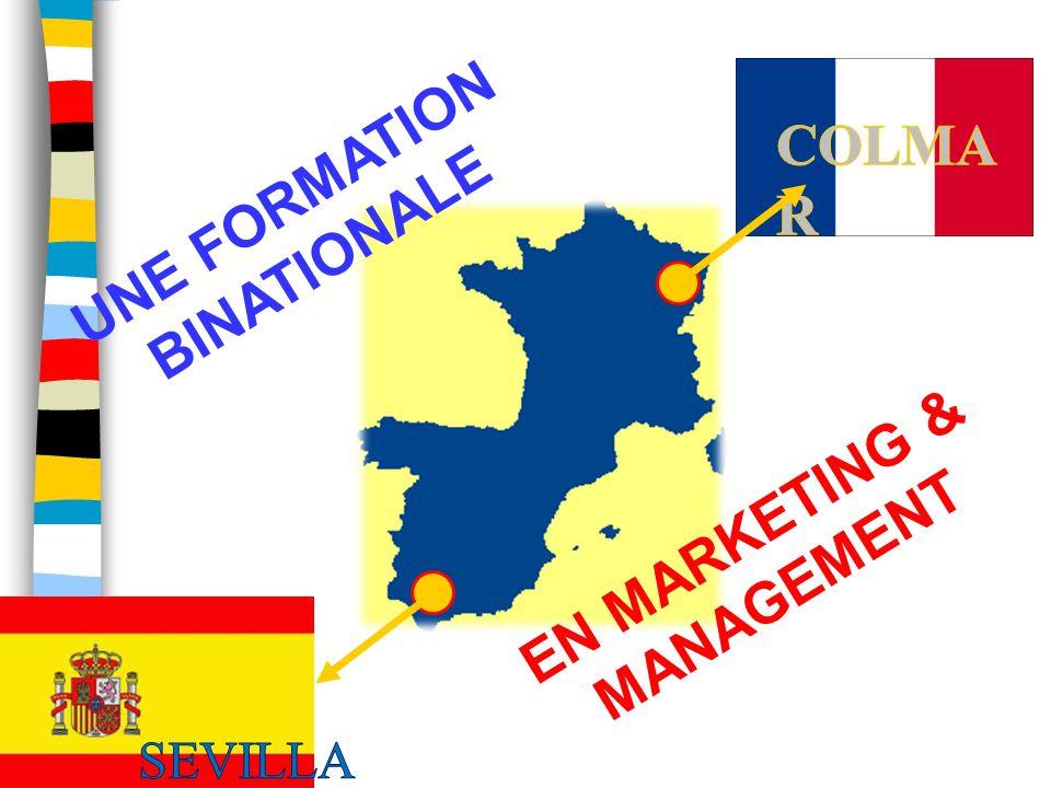 UNE FORMATION BINATIONALE EN MARKETING & MANAGEMENT.
