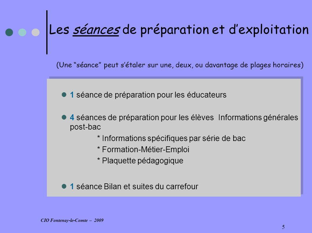 16 D) Après un bac professionnel Outils documentaires Statistiques Démarche Outils documentaires Statistiques Démarche CIO Fontenay-le-Comte – 2009