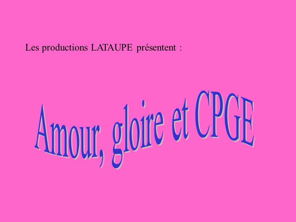 Les productions LATAUPE présentent :