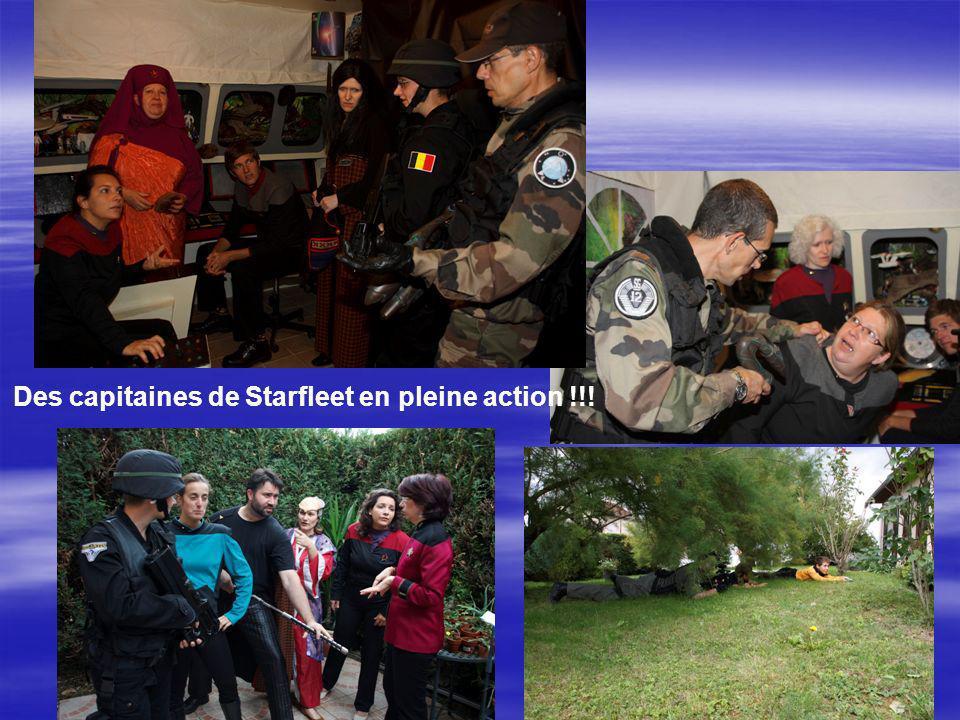 Des capitaines de Starfleet en pleine action !!!