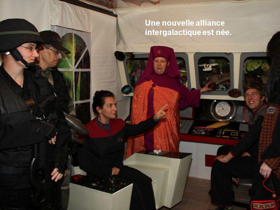 Une nouvelle alliance intergalactique est née.