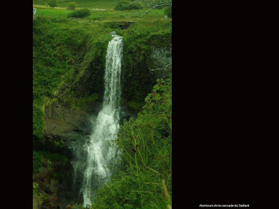 Alentours de la cascade du Saillant