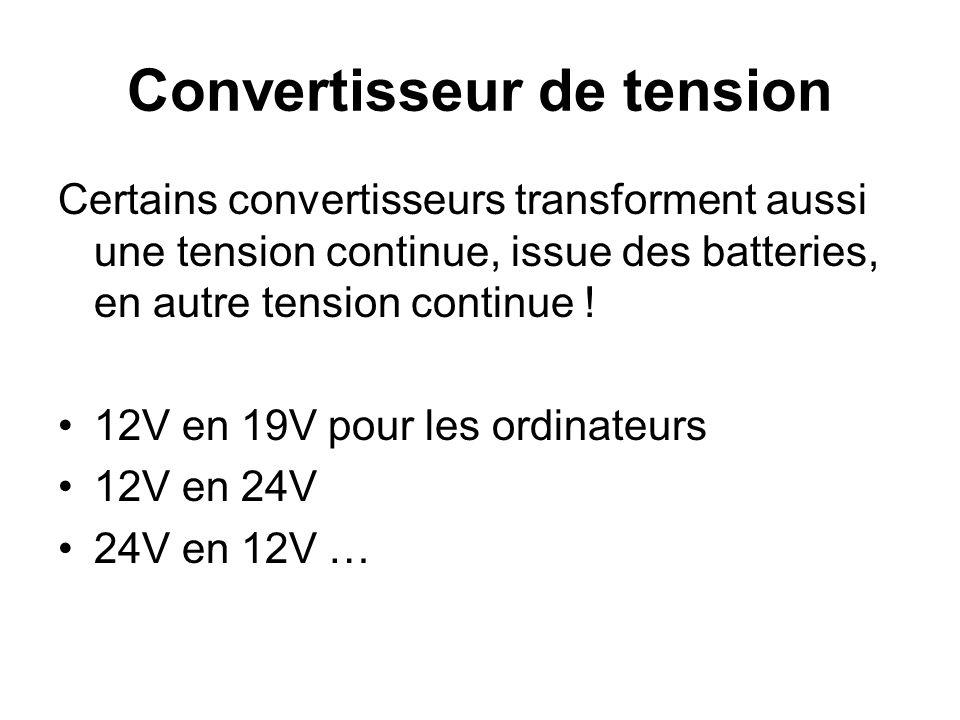 Production dénergie Pour limiter le dimensionnement des producteurs d énergie électrique, il est important de réduire la consommation en mettant des appareils adaptés.