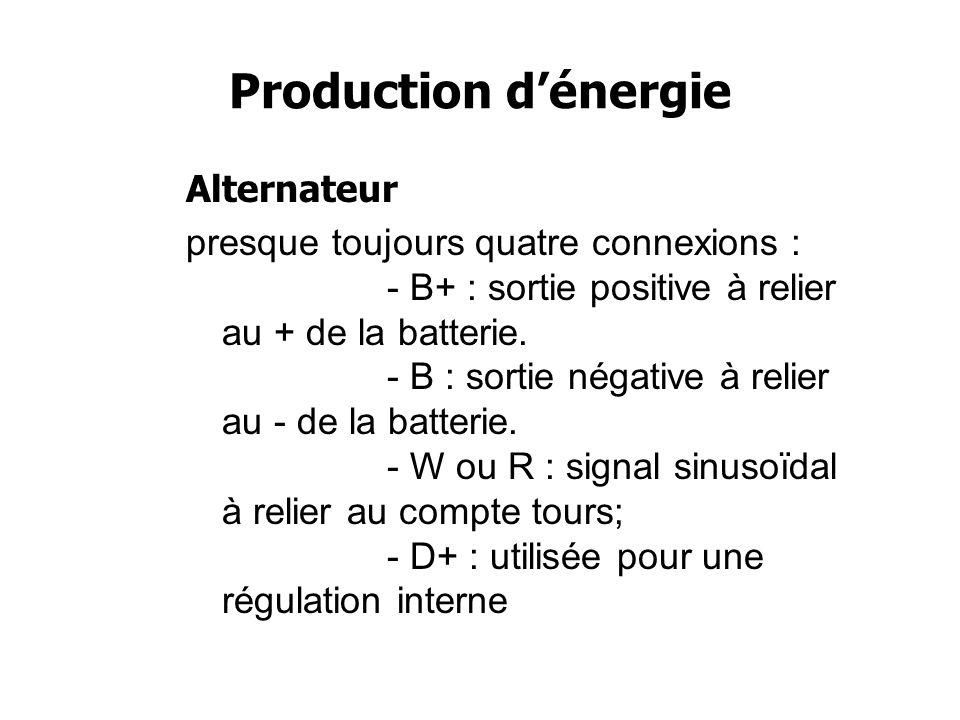 Production dénergie Alternateur Un alternateur marin évolue dans un milieu corrosif .
