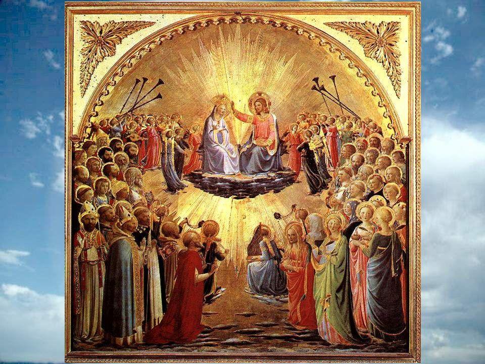 Toi la Reine du ciel, sois reine de nos cœurs : Obtiens-nous, de ton fils une nouvelle ardeur. Que nous sachions mêler nos voix à ces chœurs danges Qu