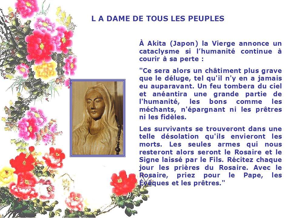 Fin août 1959 à Syracuse, en Sicile (Italie), un bas-relief de plâtre représentant la Vierge Marie et son Coeur comme transpercé par des rayons lumine