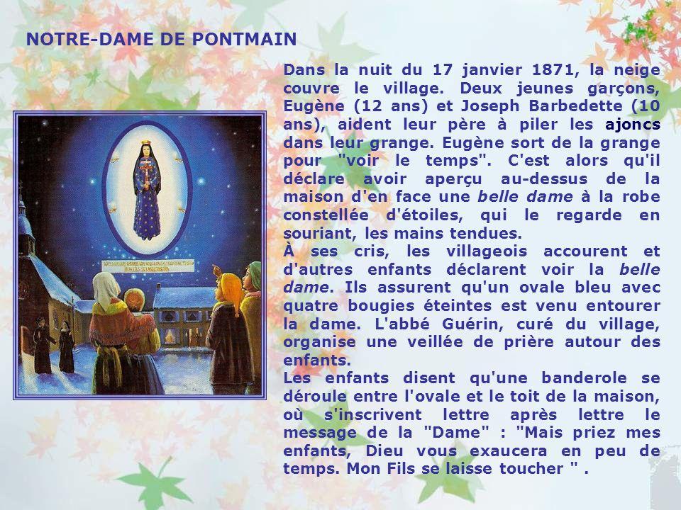 Notre-Dame du Laus est un hameau du diocèse de Gap. Jean Guitton a dit de ce lieu quil est