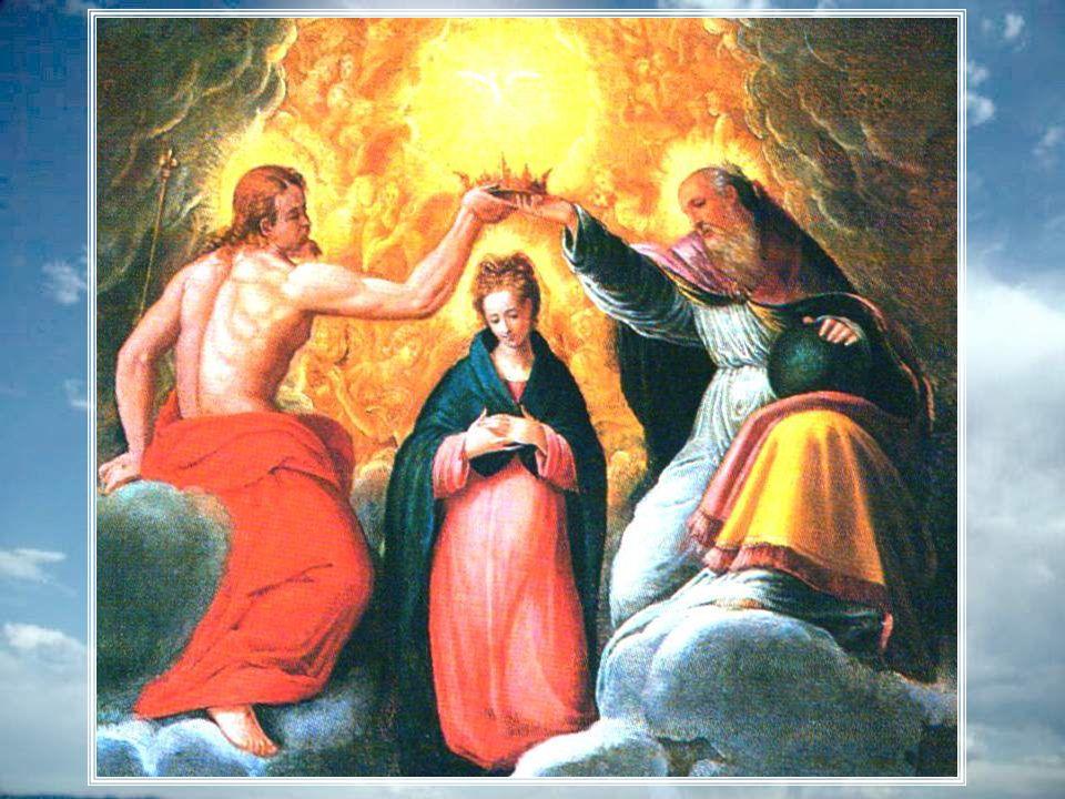 Vierge Marie, Vierge admirable, notre mère, Ton corps mortel a délaissé notre terre. Ton Fils ta désirée près de lui dans sa gloire Voulant clôturer d