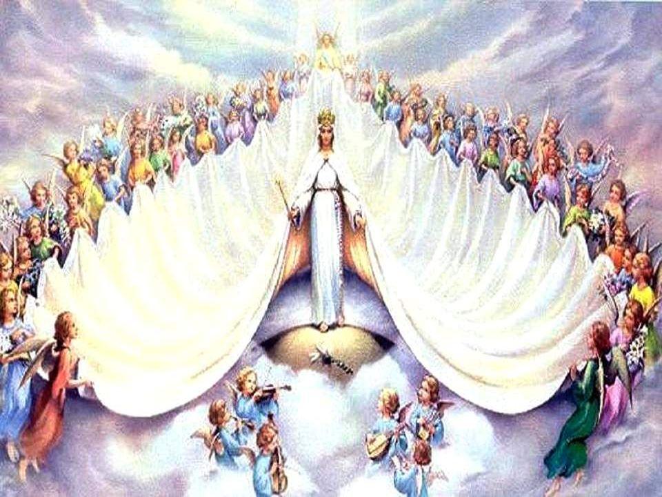 Oui, tu es reine au ciel, mais restes notre Mère. Tu te penches sur nous quand nos cœurs désespèrent. Toi qui étais debout près de lhorrible croix, Qu