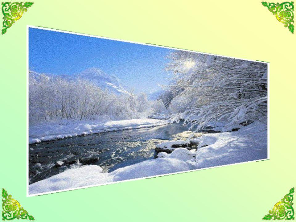 La monotonie de la vie hivernale à la campagne atteint parfois le sublime.