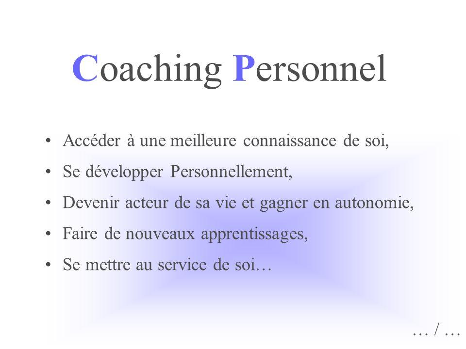 Coaching Personnel Accéder à une meilleure connaissance de soi, Se développer Personnellement, Devenir acteur de sa vie et gagner en autonomie, Faire