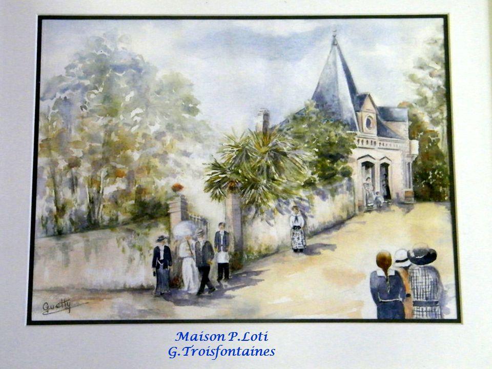 Maison P.Loti G.Troisfontaines