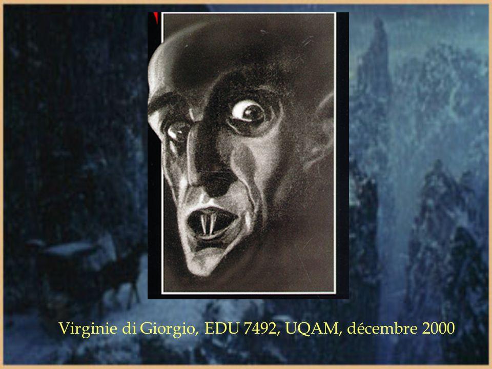 Du Vourdalak à Lestat, le statut du vampire en littérature à évolué de celui de démon à presque dieu. Le lecteur s identifie maintenant à la créature
