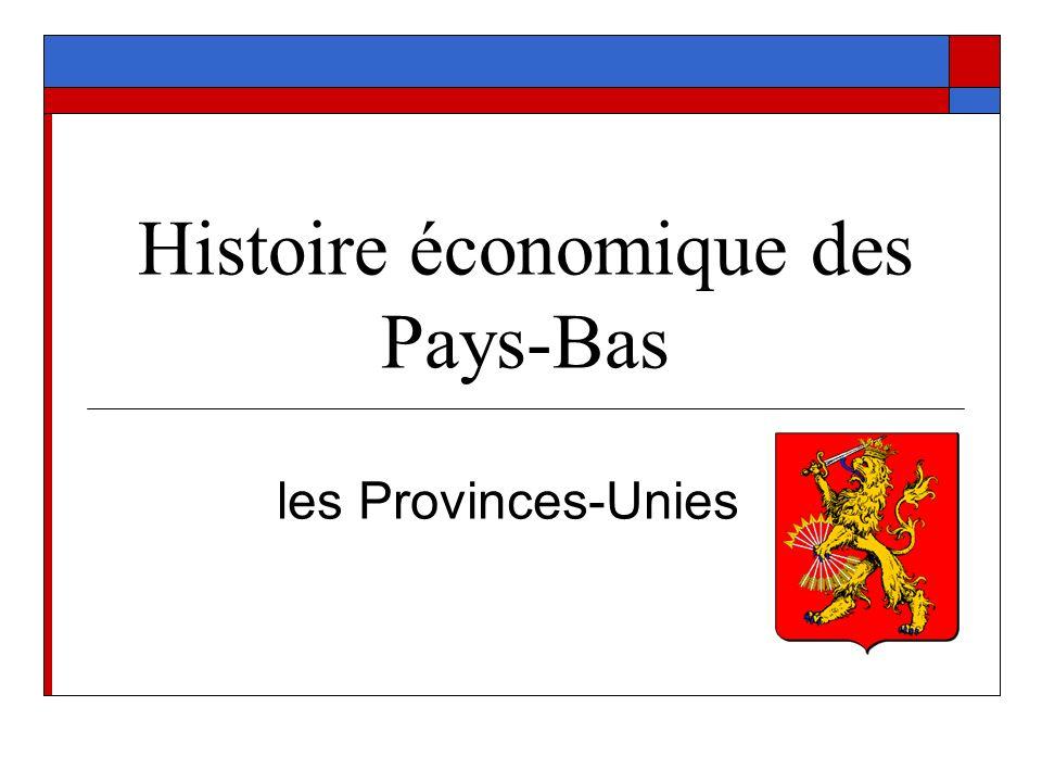 Histoire économique des Pays-Bas les Provinces-Unies